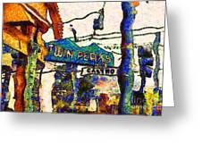 Van Gogh Takes A Wrong Turn And Discovers The Castro In San Francisco . 7d7547 Greeting Card