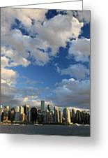 Vancouver City At Sunset Greeting Card