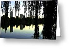Vancouver- Lost Lagoon Greeting Card by Will Borden