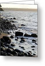 Vancouver Shoreline Greeting Card