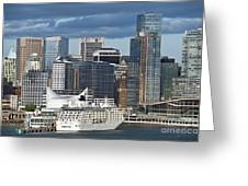 Vancouver Skyline Greeting Card
