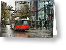 Vancouver Streets Greeting Card
