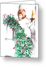 Vanessa IIi Greeting Card