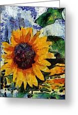 Vangogh Sunny Greeting Card