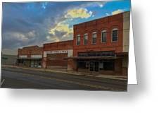 #vanishingtexas Street Scene - Rosebud Texas Greeting Card