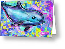 Vaquita Greeting Card