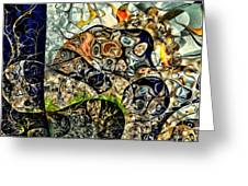 variation of Kardinsky Greeting Card