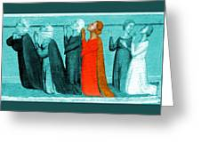 Variation On An Alterpiece Greeting Card