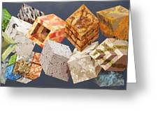 Variations In Stone Greeting Card