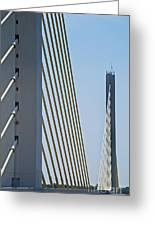 Varina Enon Bridge In Va Greeting Card