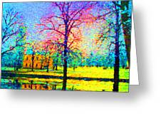 Vasaparken Before Winter Greeting Card