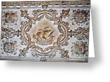 Vasco Da Gama Sarcophagus Lisbon Greeting Card
