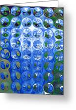 Vase Bubbles Greeting Card