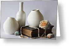 Vases Greeting Card