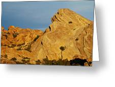 Vasquez Rocks State Park, Sunset Greeting Card