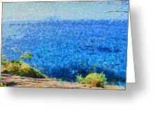 Vast Expanse Of The Ocean Greeting Card