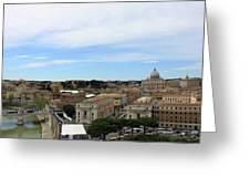 Vatican General View Greeting Card