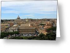 Vatican In Spring Greeting Card