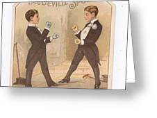 Vaudville Sports Greeting Card