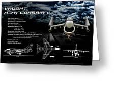 Vaught A-7a Corsair II Greeting Card