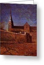 Vaugirard Church 1879 Greeting Card