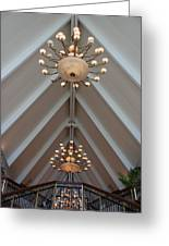Vaulted Lights Greeting Card