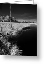 Vay Road Ditch 6 Greeting Card