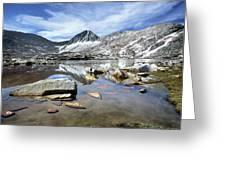 Vee Lake - Sierra Greeting Card