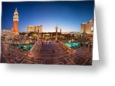 Vegas #1 Greeting Card