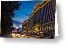 Vegas Road Greeting Card