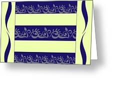 Vegetable Pattern Greeting Card
