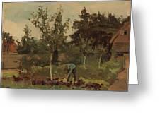 Vegetable, Willem Witsen, 1885 - 1922 Greeting Card