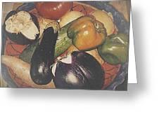 Vegetables Still Life Greeting Card