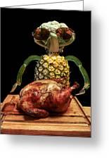 Vegetarian Meal Greeting Card