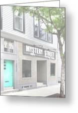 Veiled Mystery Mystery Street  Greeting Card