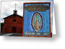 Velarde Church 1817 Greeting Card