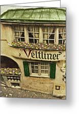 Veltliner Keller Greeting Card