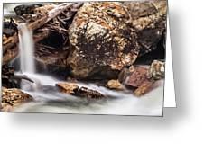 Velvet Falls - Rocky Mountain Stream Greeting Card