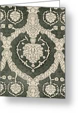Velvet Hangings, 16th Century Greeting Card
