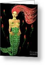 Velvet Mermaid Greeting Card