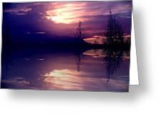 Velvet Mirror Greeting Card