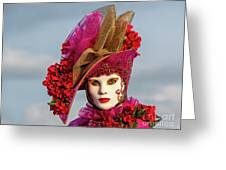 Dressed Up, Venice  Greeting Card