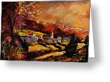 Vencimont Village Ardennes  Greeting Card