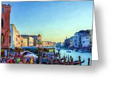 Venetian Afternoon I Greeting Card