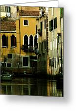 Venetian Gold Greeting Card