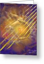 Venetian Gold Greeting Card