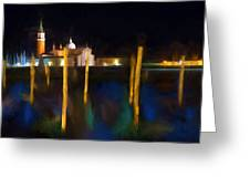 Venetian Nights Greeting Card