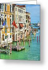 Venetian Palaces Greeting Card