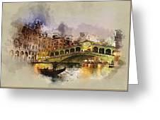 Venezia, Canal Grande Greeting Card
