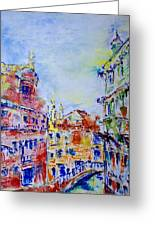 Venice 6-28-15 Greeting Card